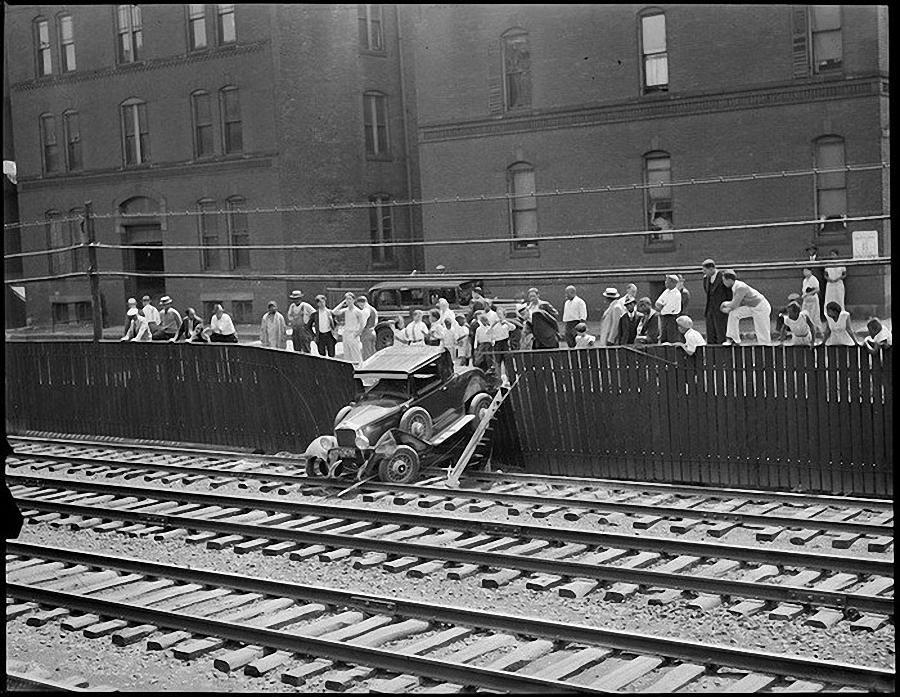 Фотогалерея аварий начала XX века (2)