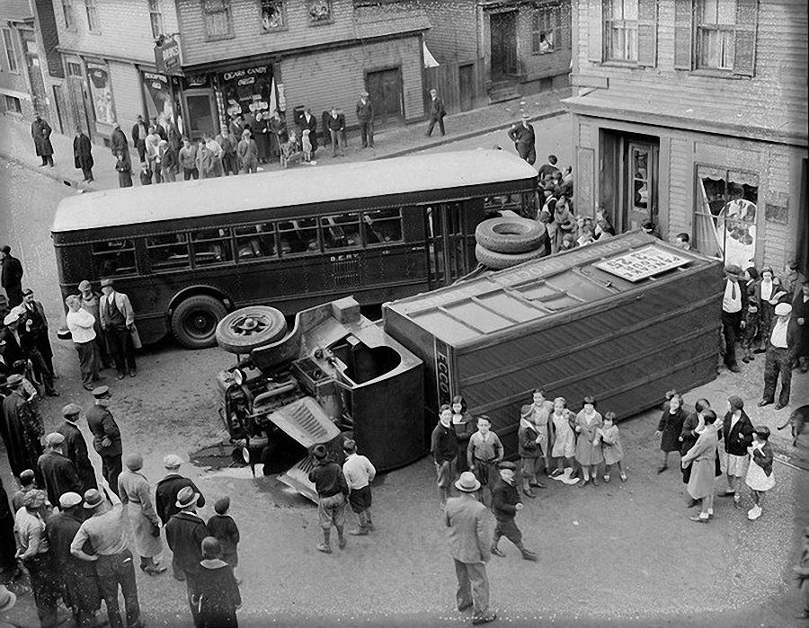 Фотогалерея аварий начала XX века (11)