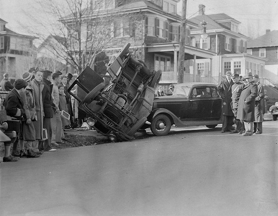 Фотогалерея аварий начала XX века (12)