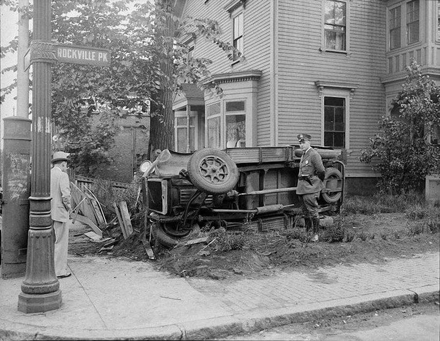 Фотогалерея аварий начала XX века (13)
