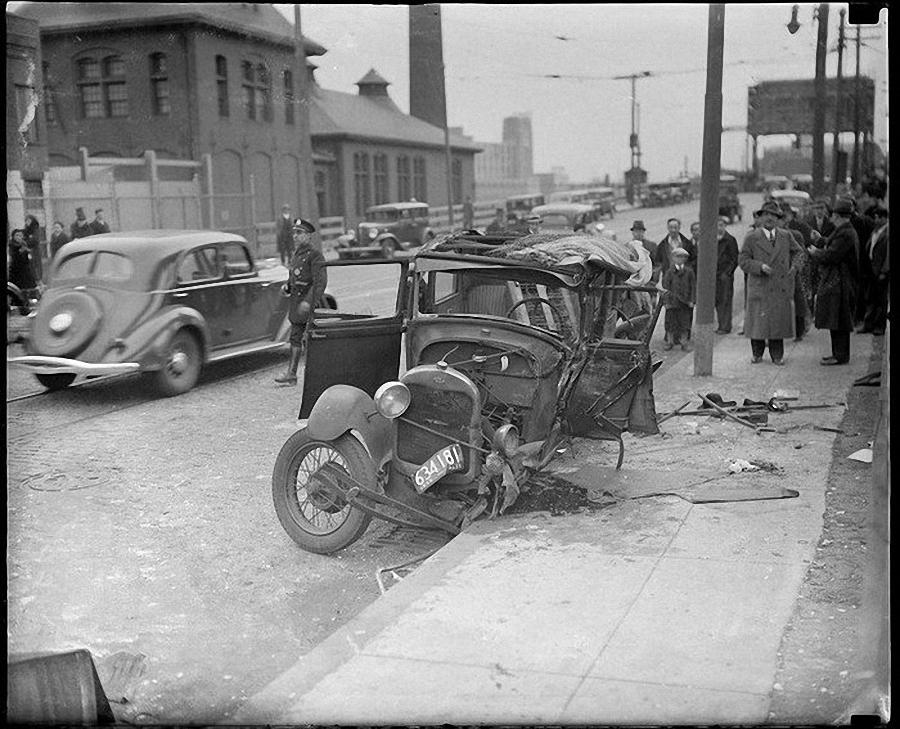 Фотогалерея аварий начала XX века (21)