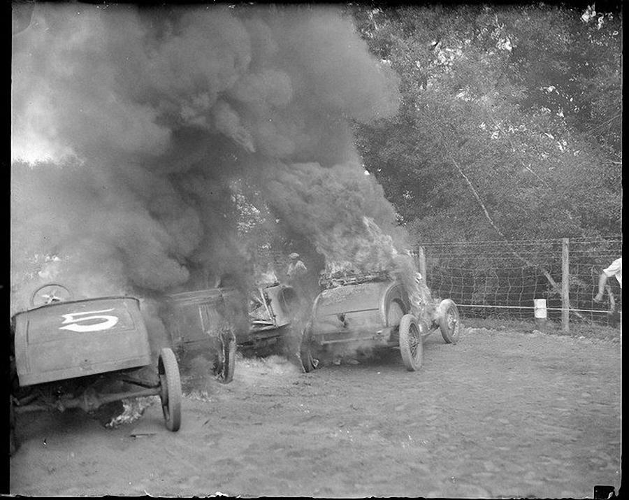 Фотогалерея аварий начала XX века (22)