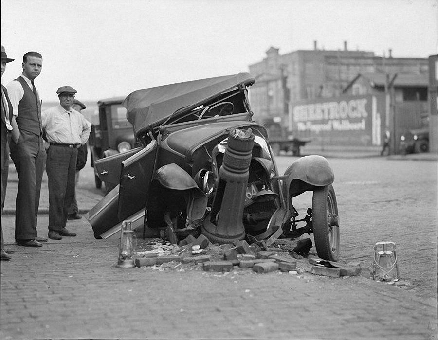 Фотогалерея аварий начала XX века (24)