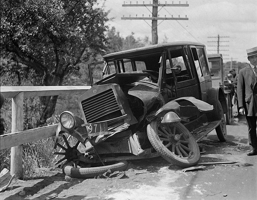 Фотогалерея аварий начала XX века (26)