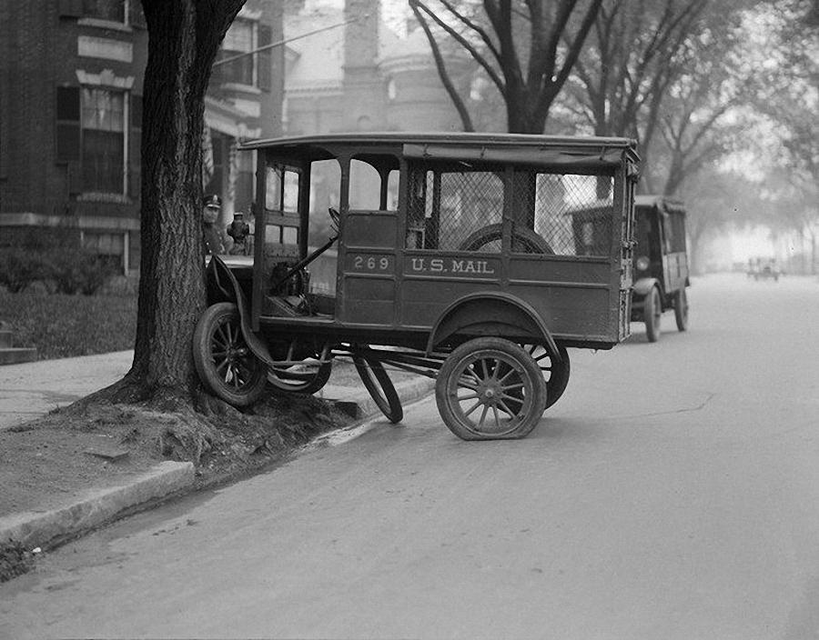 Фотогалерея аварий начала XX века (1)