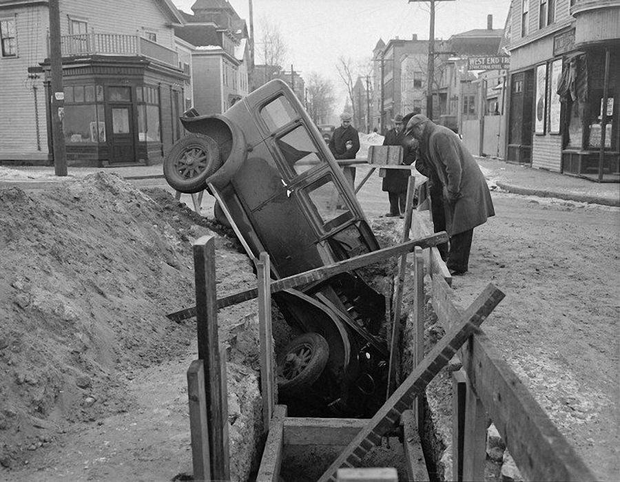 Фотогалерея аварий начала XX века (27)