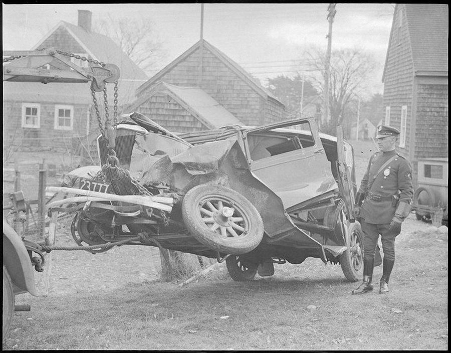 Фотогалерея аварий начала XX века (4)