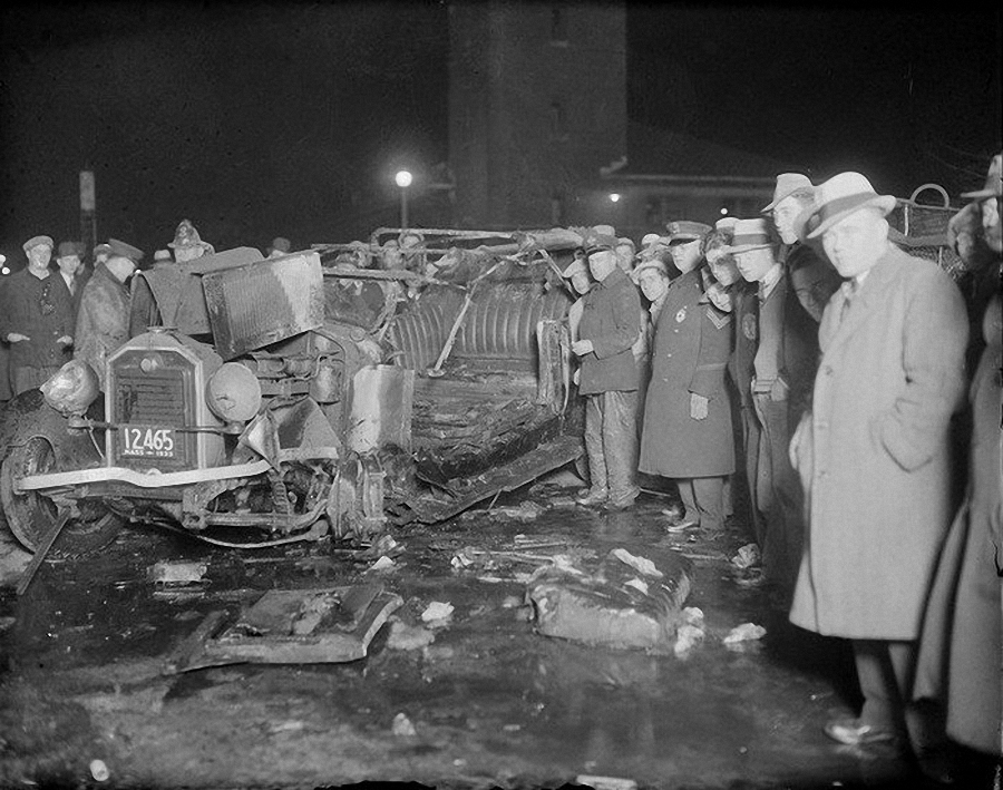 Фотогалерея аварий начала XX века (30)