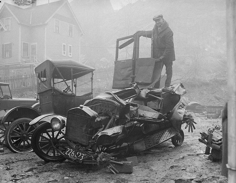 Фотогалерея аварий начала XX века (7)