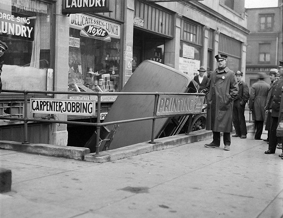 Фотогалерея аварий начала XX века (8)