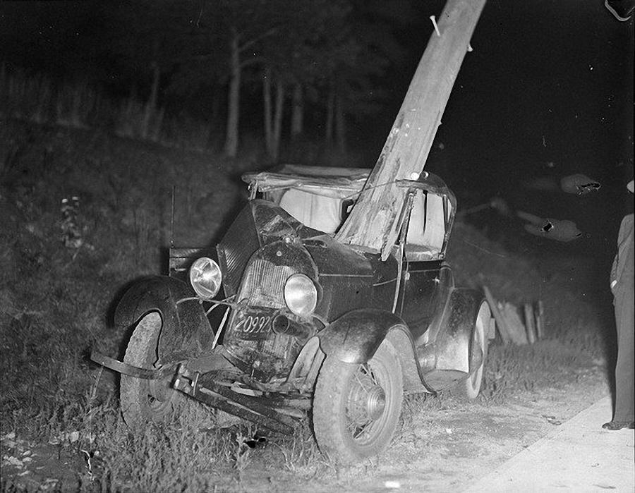 Фотогалерея аварий начала XX века (9)