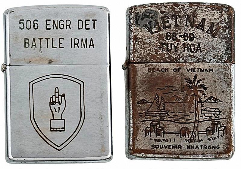 Коллекция солдатских зажигалок Zippo (15)