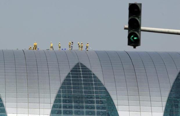 Фотогалерея нового терминала в Дубаях (11)