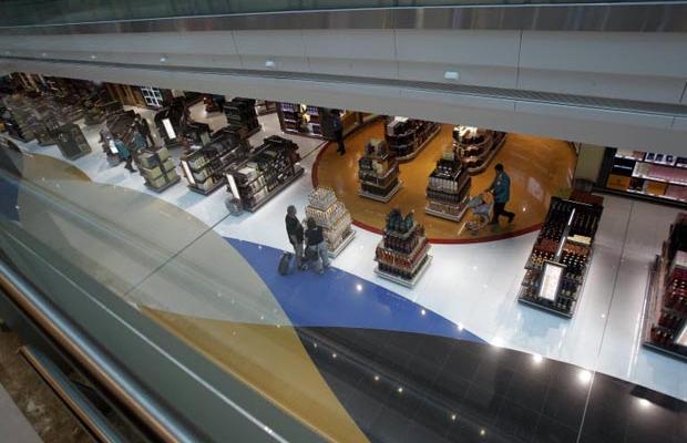 Фотогалерея нового терминала в Дубаях (9)