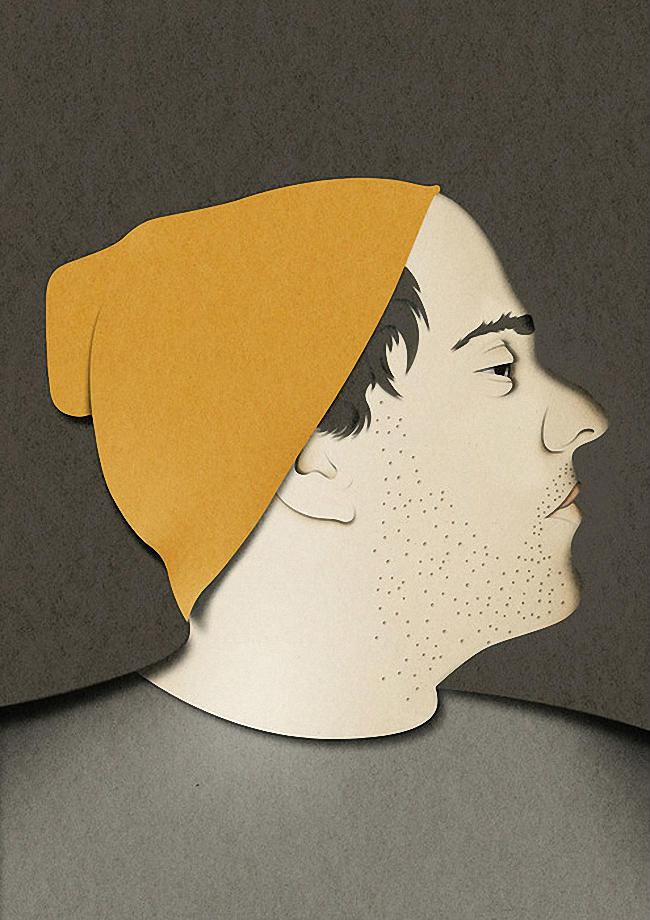 Бумажные 3D иллюстрации от Эйко Ояла (Eiko Ojala) (1)