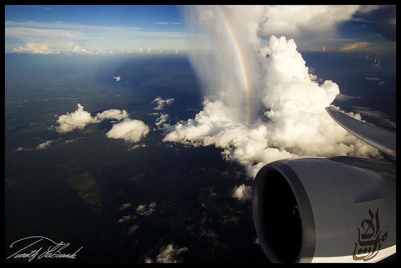 Мир с окна самолета (34)
