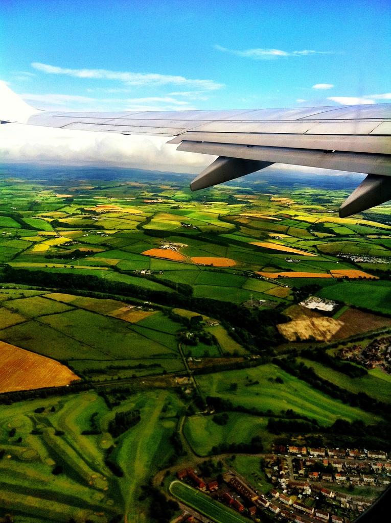 Мир с окна самолета (28)