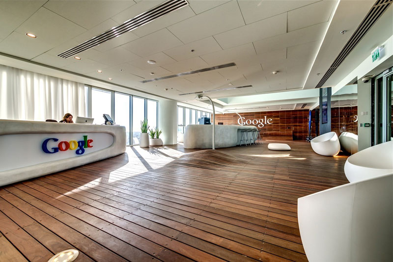 Креативный офис от Google в Тель-Авиве (1)