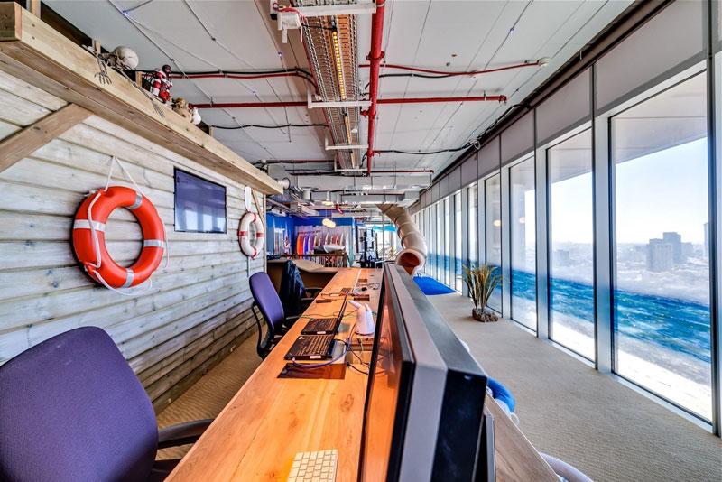 Креативный офис от Google в Тель-Авиве (12)