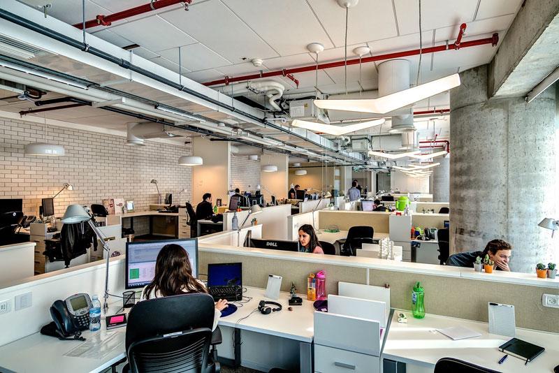 Креативный офис от Google в Тель-Авиве (13)