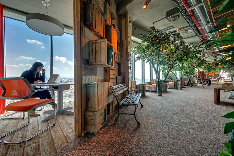 Креативный офис от Google в Тель-Авиве (18)