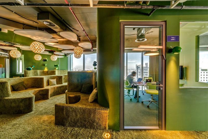 Креативный офис от Google в Тель-Авиве (19)