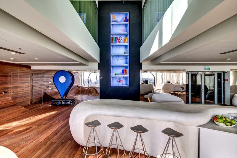 Креативный офис от Google в Тель-Авиве (2)