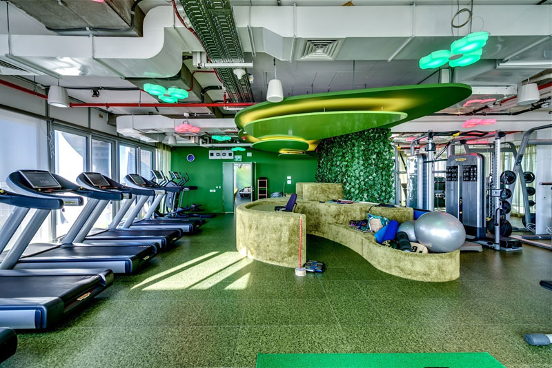 Креативный офис от Google в Тель-Авиве (20)