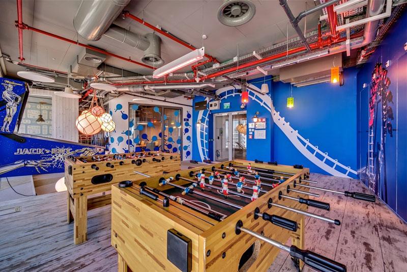 Креативный офис от Google в Тель-Авиве (23)