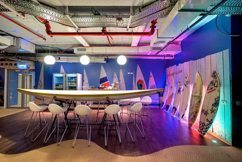 Креативный офис от Google в Тель-Авиве (24)