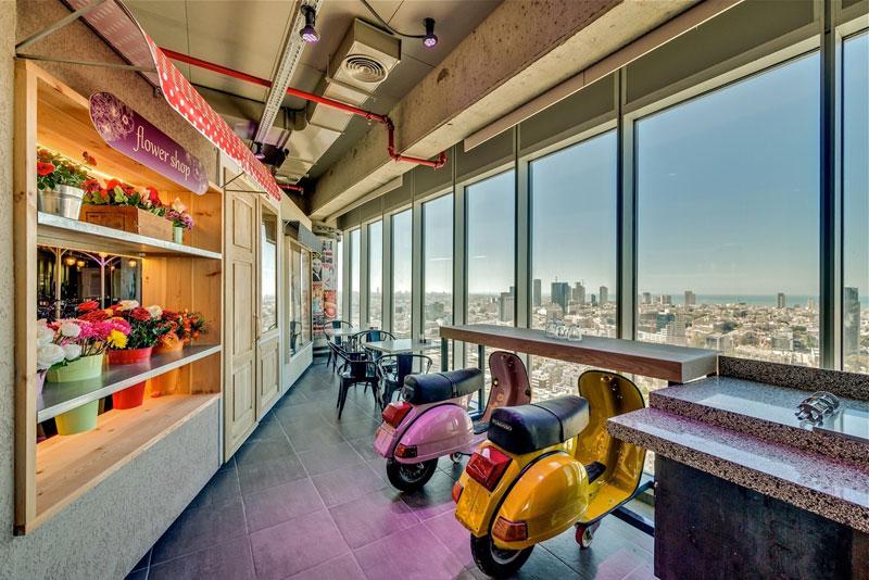 Креативный офис от Google в Тель-Авиве (28)