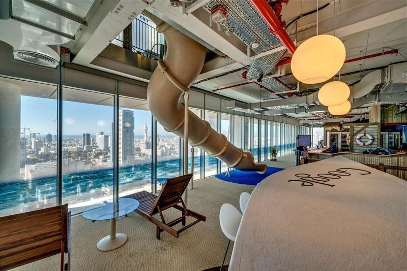 Креативный офис от Google в Тель-Авиве (5)