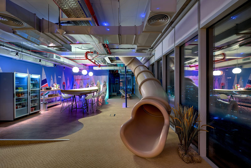 Креативный офис от Google в Тель-Авиве (6)