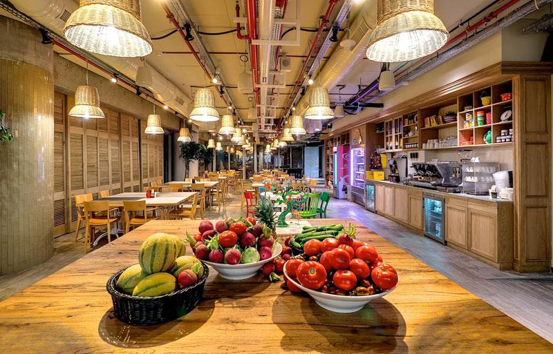 Креативный офис от Google в Тель-Авиве (9)