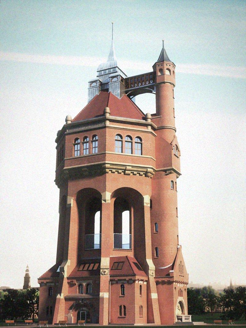 водонапорные башни мира (30)