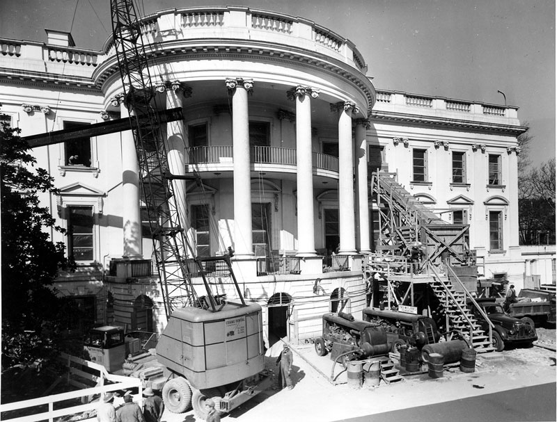 Экскурсия на реконструкцию Белого дома (9)