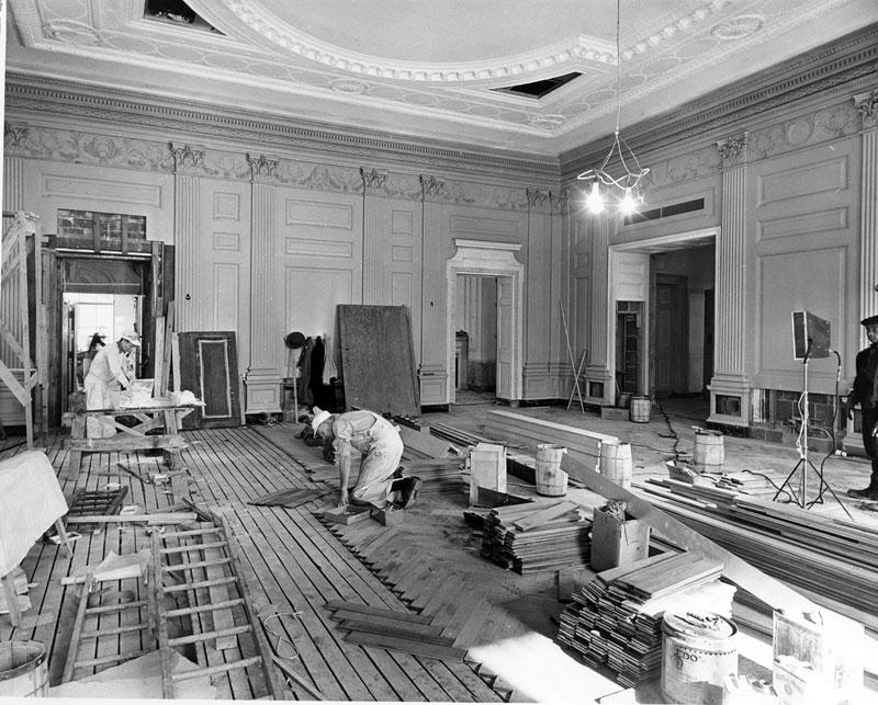 Экскурсия на реконструкцию Белого дома (21)