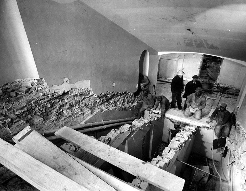 Экскурсия на реконструкцию Белого дома (8)