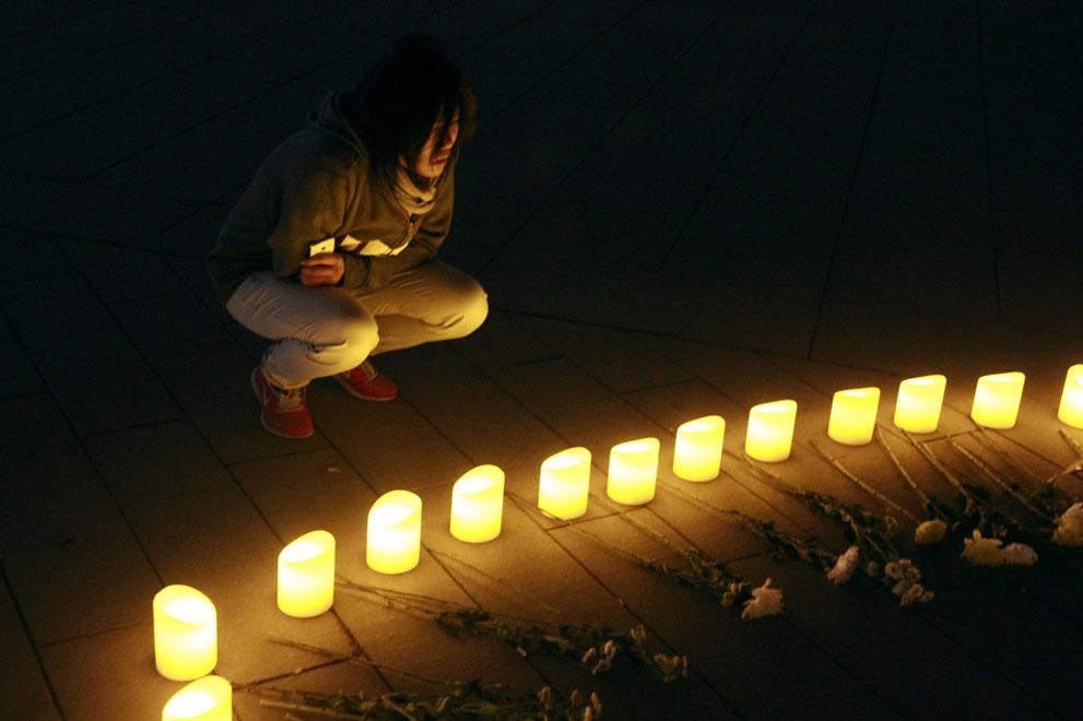 Дань памяти жертв бостонского марафона (13)