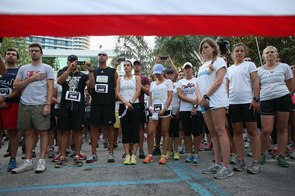 Дань памяти жертв бостонского марафона (17)