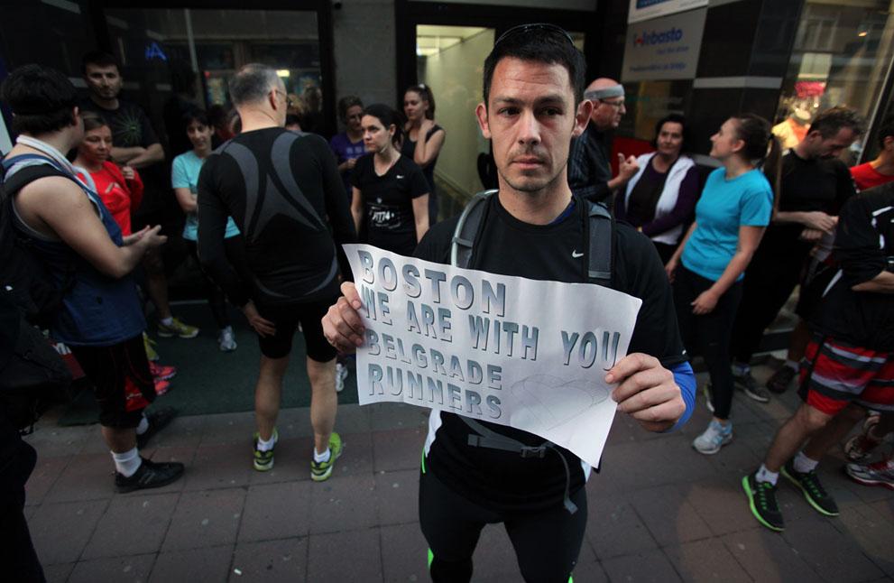 Дань памяти жертв бостонского марафона (19)