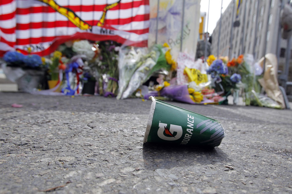 Дань памяти жертв бостонского марафона (8)