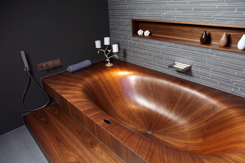 Деревянные ванны (12)