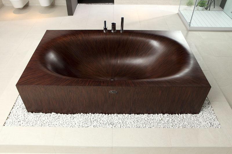 Деревянные ванны (10)