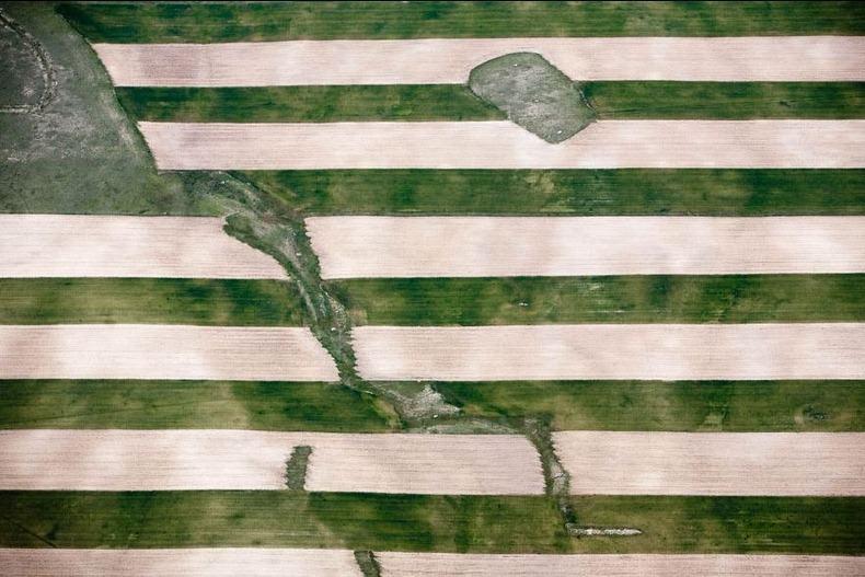 Воздушные фотографии сельскохозяйственных угодий (12)