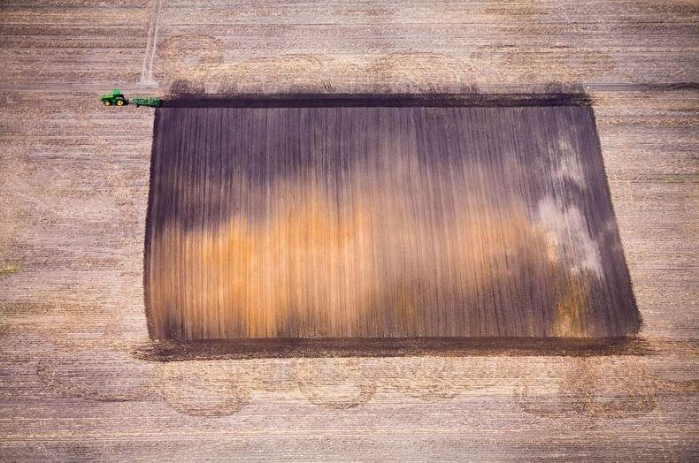 Воздушные фотографии сельскохозяйственных угодий (8)