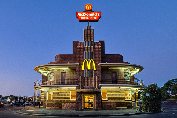 Необычные здания McDonald's (14)