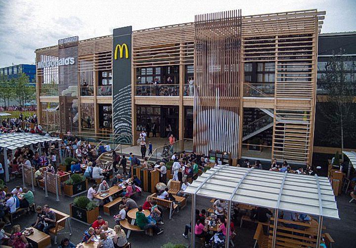 Необычные здания McDonald's (7)