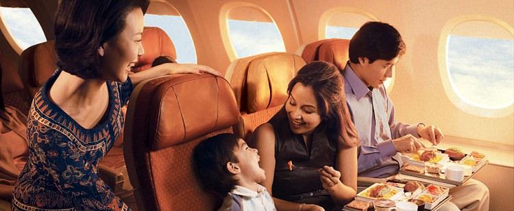 Питание в самолете - обзор авиакомпаний мира (4)