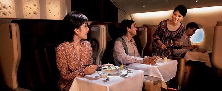Питание в самолете - обзор авиакомпаний мира (5)